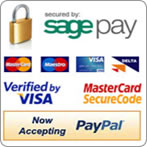 Secure Payments By Sage Pay & PayPal