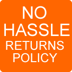 No Hassle CCTV Returns Policy