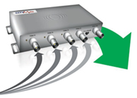 CCTV Mule (Sold In Pairs) - Send 4 Video Signals Down A Single RG59 Coax