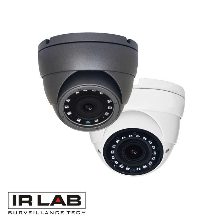 IRLAB 4 In 1 1080P Starlight IR Dome 2.8-12mm Lens