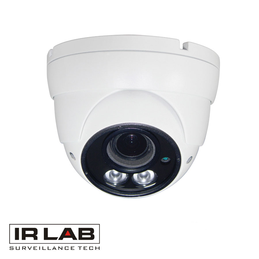 IRLAB 4 In 1 1080P Dual IR Dome 2.8-12mm Motorised Lens