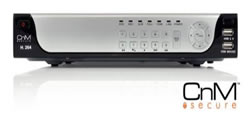 CnM Secure H.264 CCTV DVR + Network + Mobile Phone Monitoring