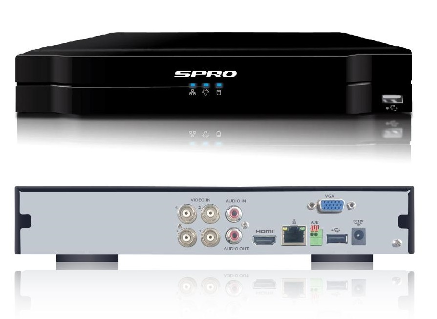 SPRO B3 8MP 6 Channels 5in1 DVR