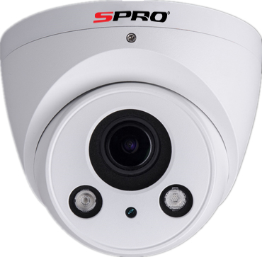 SPRO Turret IP Camera 2.7-13mm Motorised Lens -DHIPD40-2713RW-A