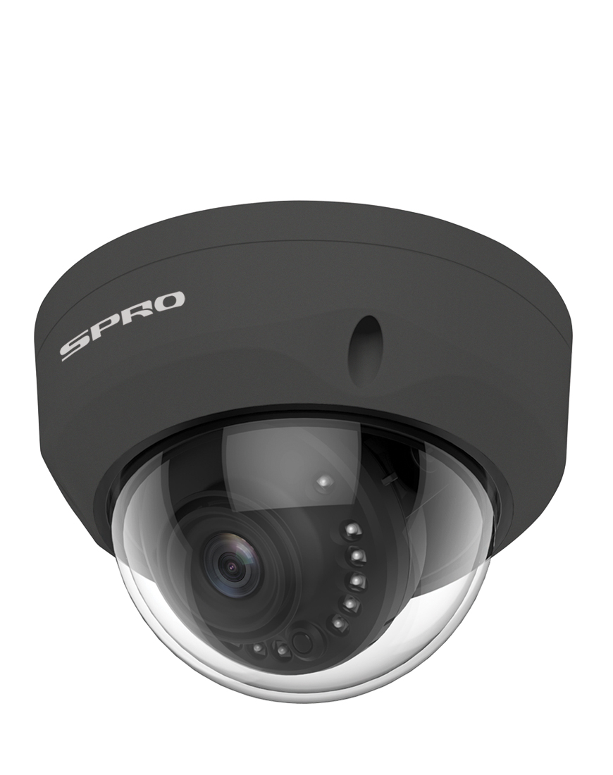 SPRO 4MP IP Fixed Lens Vandal Resistant Dome