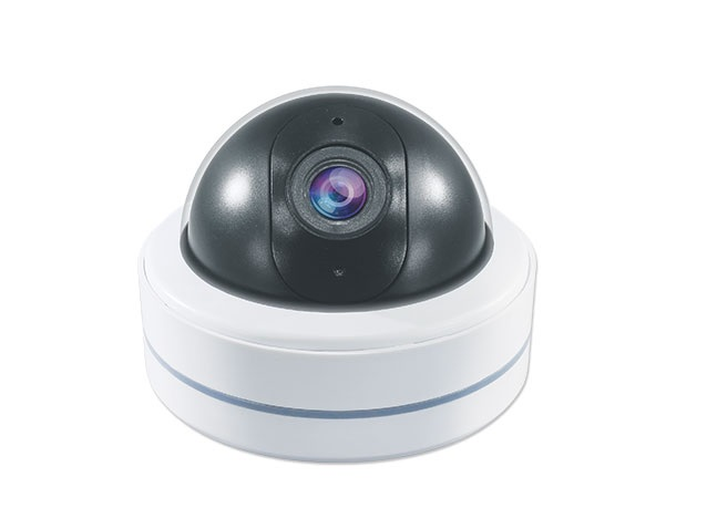 Decoy White Indoor Dome Camera With Vari-focal Lens and Flashing LED