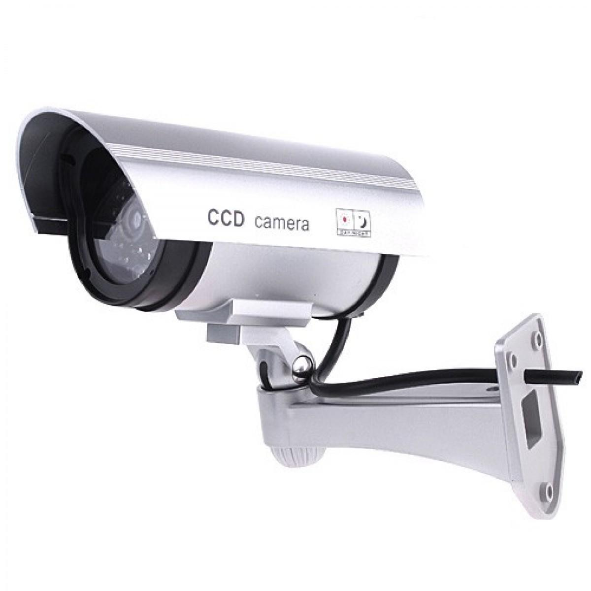 Dummy Bullet Style Security Camera With Flashing LED