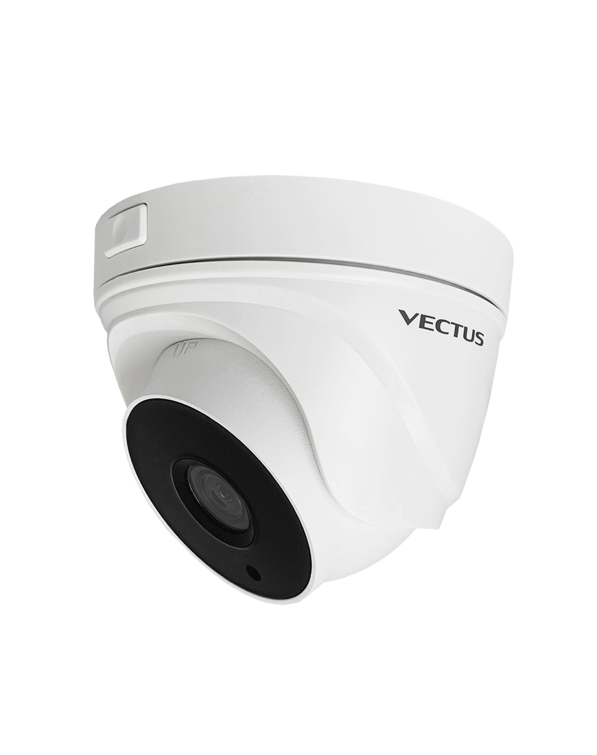 VECTUS 5MP TVI Fixed Lens Turret with POC