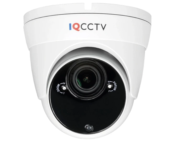 IQCCTV 2MP 4in1 Starlight Varifocal Vandal Dome Camera