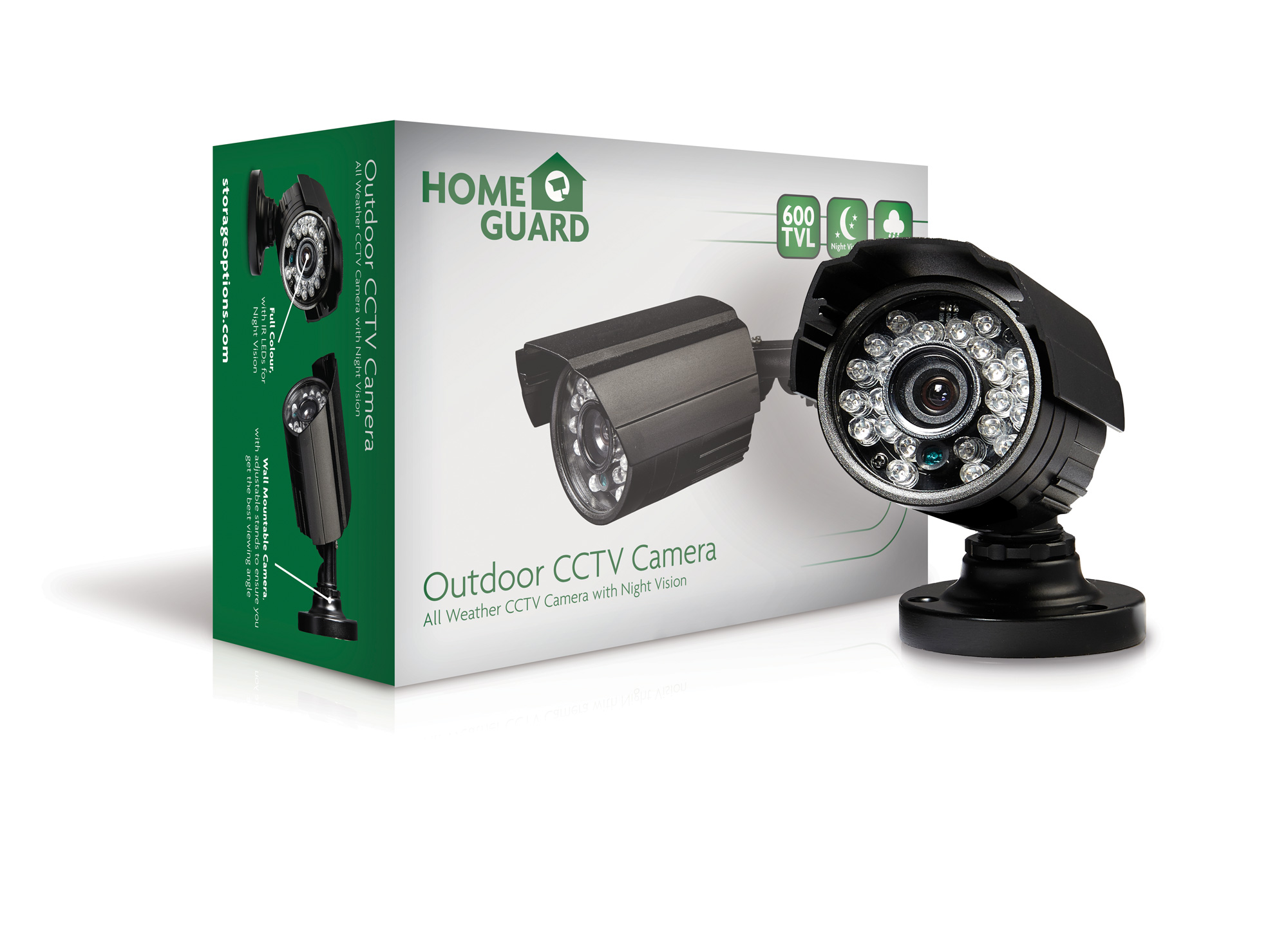 HomeGuard Wired Bullet CCTV Camera 700 TVL