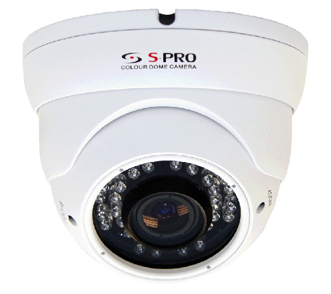 SPRO 1.3 Megapixel AHD Eyeball Dome Camera with 15m IR Night Vision Range