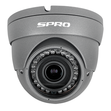 SPRO Hybrid Eyeball Dome Camera 1080p 30m IR
