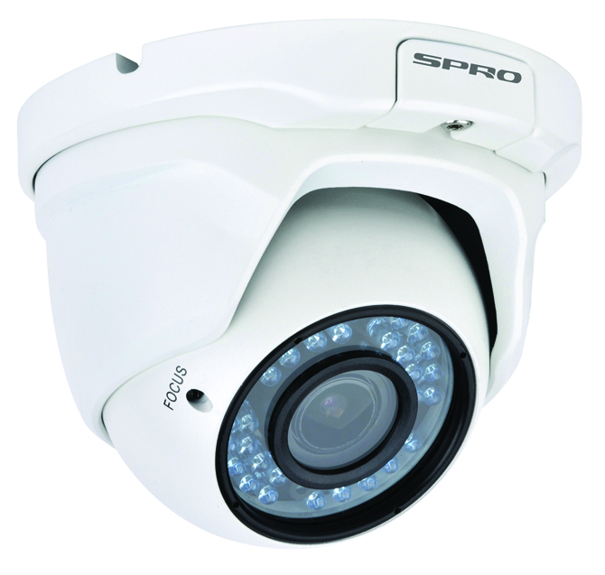 SPRO 1080p 2 Megapixel HD CVI IR Dome Camera with Auto Focus + 30m IR Night Vision