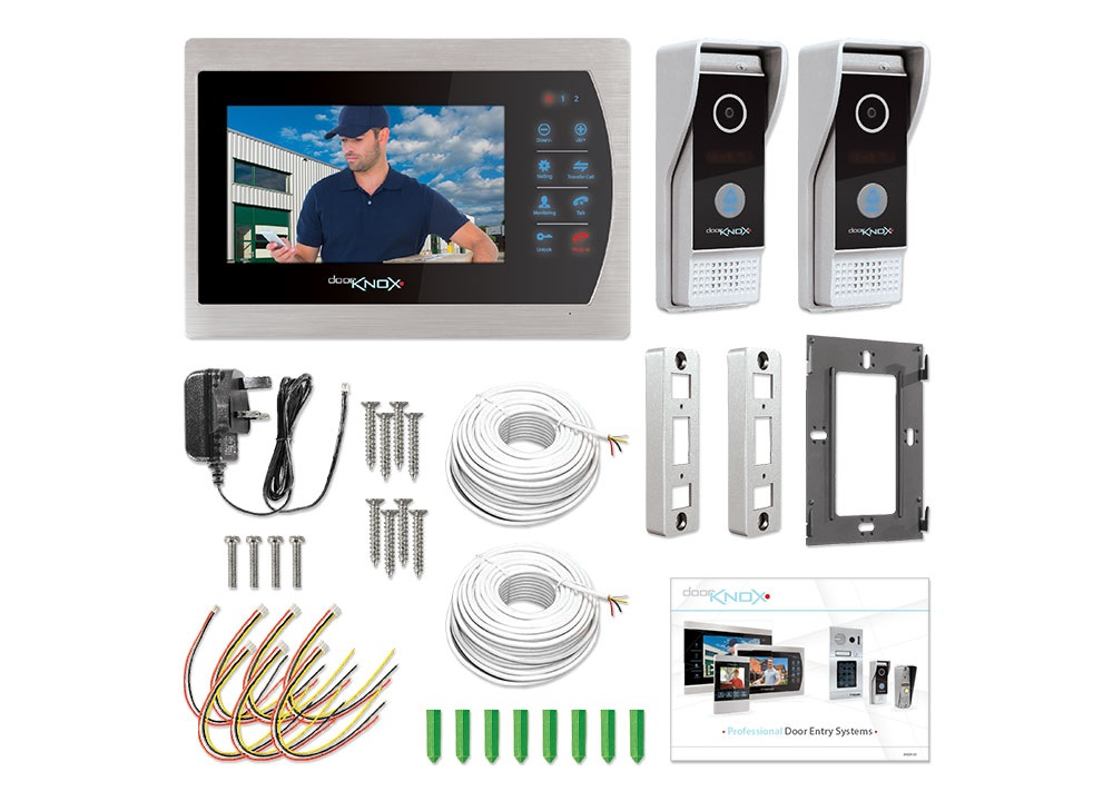 Doorknox Basic Video Door Entry Kit Doorknox Systems Vdp604