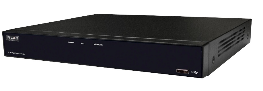 IRLAB HDCVI 5 IN 1 16 Channel DVR Supports HDCVI, TVI, AHD, Analogue & IP Cameras
