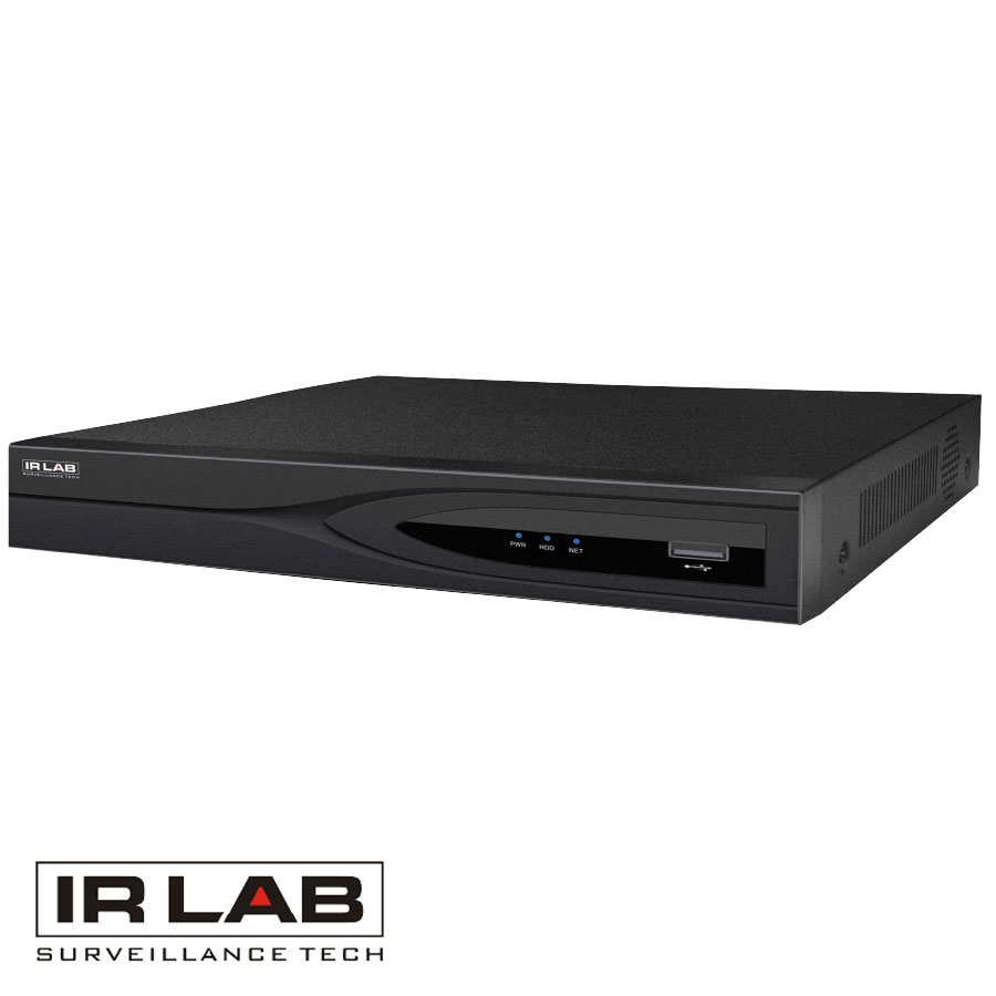 IRLAB H.265 16 Channel NVR with 4TB HDD