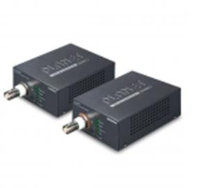 Network and PoE over Coax Convertor and Extender (includes Transmitter and Receiver)