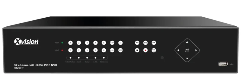 Xvision Professional 8MP 32 Channel HD-IP NVR