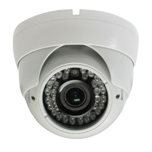 700TVL Doom Camera 2.8~12mm Vari-focal Lens 36 IR IP66